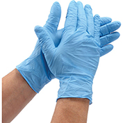 Powder-Free Nitrile Textured Exam Gloves - XL, 100/Box