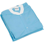 "Disposable Lab Coats - 3XL, 39""L, 10/Pack"