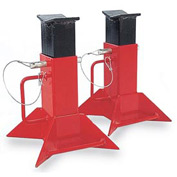 5 Ton Fork Lift Jack Stands - Sold as Pair