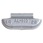 Coated Lead Wheel Weight For Standard Oem Alloy Wheels - 1.25 Ounce - Min Qty 4