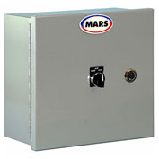 Mars® 1 Motor Control Panel MCPB-1U, Unheated, 1 HP, NEMA 1 Enclosure With HOA Switch, Gray