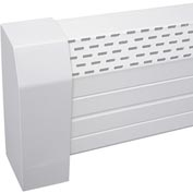 Neatheat Left End/Wall Cap - Hot Water Hydronic Baseboard Cover - NHL