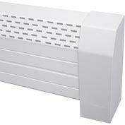 Neatheat Right End/Wall Cap - Hot Water Hydronic Baseboard Cover - NHR