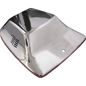 Perfect Products Replacement Hood, Silver Metal - 1