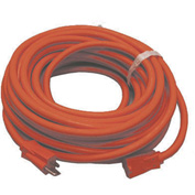 Perfect Products 50' Extension Cord 14/3 600 Volt Heavy Duty Insulated Red - 926R