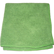 "Perfect Products Microfiber Cloths 16""x16"", Green 200/Pack - CSA004E - Pkg Qty 200"