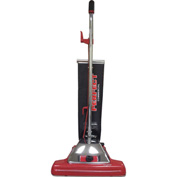 "Perfect Products 16"" Vacuum w/Shake Out Teflex Coated Bag 7.25 Amp, Red/Stainless - P102"