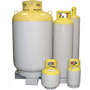 NRP NC1000 Refrigerant Recovery Cylinder, 1000 Lbs With Float Gauge