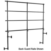 Side Guard Rails for Standing Risers - 4 Level