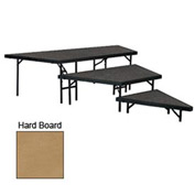 "Stage Pie Set with Hardboard for 48""W Stage Units - 8""H, 16""H & 24""H"
