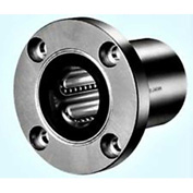 "NB Corp SWF6GUU 3/8"" ID Round Flange Type Linear Bearing W/W/Resin Retainer & Seals, Steel"