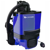 NaceCare Battery Powered Backpack Vacuum, 1.5 Gallons - RBV 130