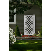 "New England Arbors® VA68199 Luxembourg Privacy Screen , 2"" x 27"" x 56.25"""