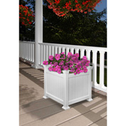 "New England Arbors® Cardiff Planter Box, 15"" x 15"" x 15-3/4"""