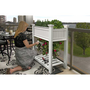 "New England Arbors® Urbanscape Tomato Planter, 24"" x 36"" x 53"""