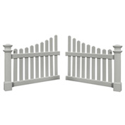 "New England Arbors® VA74338 Cottage Picket Wings, x 49"" x 41"""