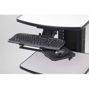 Adjustable Keyboard Tray with Mouse Tray - Newcastle Systems B104