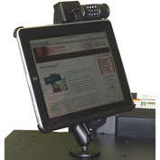 Newcastle Systems B170 iPad Holder with Lock, For use with Apple iPad 1st & 2nd Generation