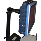 Post Mount Flat Screen Holder 75/100mm, 25 lbs Capacity - Newcastle Systems B176