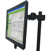 Newcastle Systems B266 Post Mount Single Monitor Holder For NB, PC & EC Series Carts