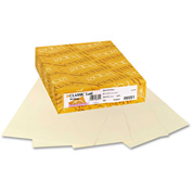 "Neenah Paper Classic Laid Stationery Writing Paper 6551, 8-1/2"" x 11"", Baronial Ivory, 500 Shts/Ream"