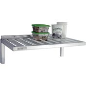 "Aluminum T-Bar Wall Shelf, 20""Wx48""L"