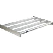 "New Age -Cantilever Rack Heavy Duty Shelf, 48""Wx24""D,   900 Lbs Capacity, Aluminum"
