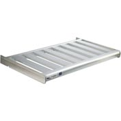 "New Age - Cantilever Rack T-Bar Shelf, 60""Wx18""D,  900 Lbs Capacity, Aluminum"