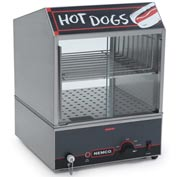Hot Dog Steamer, Low Water Level Indicator Light