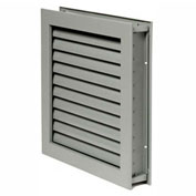 """National Guard L-1900 Fire-Rated Fusible Link Louver 12-5/8""""L x 12-5/8""""W"""