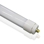 InnoLED LED Tube Light T10, 8ft, 40w, fa8 Single Pin, 4000 cct., Direct Wire