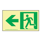 Glow NYC - Directional Sign Left