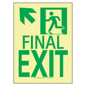 Glow NYC - Final Exit Sign Up Left
