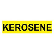 Pressure-Sensitive Pipe Marker - Kerosene, Pack Of 25