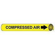 Precoiled and Strap-on Pipe Marker - Compressed Air