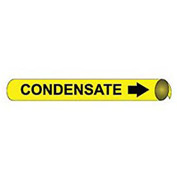 Precoiled and Strap-on Pipe Marker - Condensate