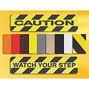"Grit Anti-Slip Tape - Yellow/Black - 12""W"