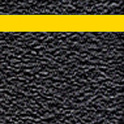 "Grit Anti-Slip Tape - Black with Reflective Stripe - 6""W"