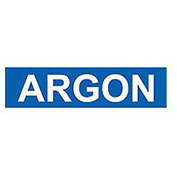 Pressure-Sensitive Pipe Marker - Argon, Pack Of 25