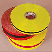 "Webbed Barrier Tape - Red/Black - 3/4""W"