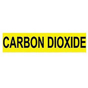 Pressure-Sensitive Pipe Marker - Carbon Dioxide, Pack Of 25