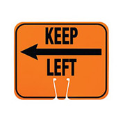 Cone Sign - Keep Left