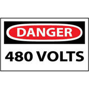Machine Labels - Danger 480 Volts