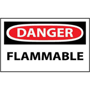 Machine Labels - Danger Flammable