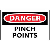 Machine Labels - Danger Pinch Points