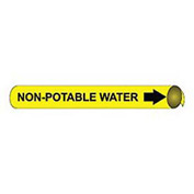 Precoiled and Strap-on Pipe Marker - Non-Potable Water