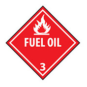 DOT Placard - Fuel Oil