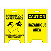Floor Sign - Pardon Our Appearance Temporarily Under Construction
