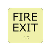 Glow Braille - Fire Exit