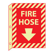 3D Glow Sign Plastic - Fire Hose